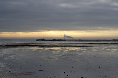 Southend码头, Essex,英国 库存照片