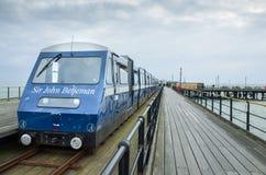 Southend στην αποβάθρα ευχαρίστησης θάλασσας, ο μακρύτερος στο theworld Στοκ εικόνες με δικαίωμα ελεύθερης χρήσης