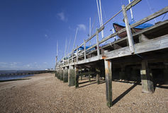 Southend Beach, Essex, England Stock Photography