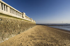 Southend Beach, Southend-on-Sea, Essex, England Royalty Free Stock Images