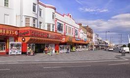 15/04/2016 - Southend em arcadas da parte dianteira de mar do mar Foto de Stock Royalty Free