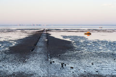 Southend Küstenlinie Stockbild