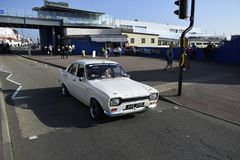 Southend no mar Reino Unido 15/10/2017 Ford retro velho drived por seu proprietário Foto de Stock