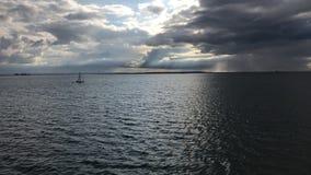 Southend-på-hav pirfartyg arkivbild