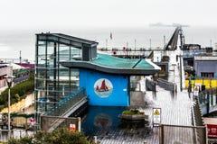 SOUTHEND PÅ HAVET, ESSEX/UK - NOVEMBER 24: Southend på havet ut ur Royaltyfria Foton