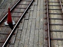Southend-Pier, Essex, Bahnlinie Studie des Piers Lizenzfreies Stockfoto