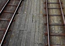 Southend-Pier, Essex, Bahnlinie Studie des Piers Stockfotografie