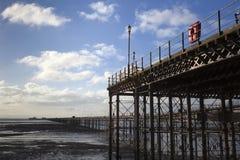 Southend Pier, Essex, England Stock Images