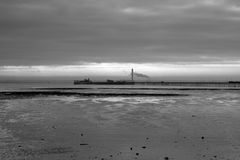 Southend Pier, Southend-on-Sea, Essex, England Royalty Free Stock Image