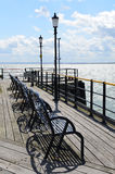 Southend pleasure pier. Stock Photo