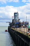 Southend pleasure pier. Stock Images