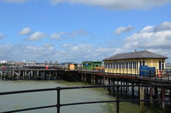 Southend pleasure pier. Stock Image