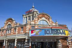 The Kursaal in Southend-on-Sea. SOUTHEND-ON-SEA, ESSEX - APRIL 5TH 2018: A view of the historic Kursaal located in Southend-on-Sea in Essex, UK, on 5th April Royalty Free Stock Images