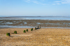 Southend view to Isle of Grain Royalty Free Stock Photo