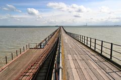 Southend sul mare, il pilastro fotografia stock