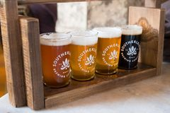 Southerleigh Brewing Company Beer Stock Photo