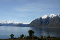 Southern Alps Lake Royalty Free Stock Images