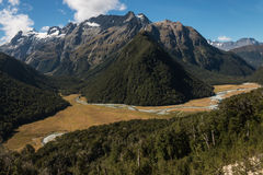 Southern Alps near Routeburn Track Royalty Free Stock Photos