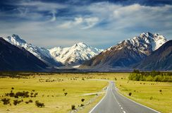 Southern Alps, New Zealand Royalty Free Stock Photos