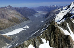Southern Alps - New Zealand Stock Photo