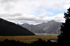 Southern Alps, New Zealand royalty free stock images