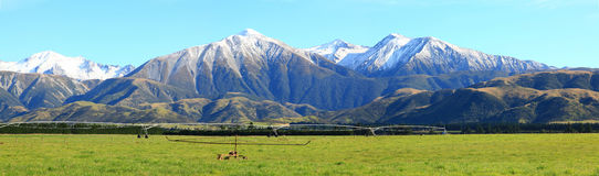 Southern alps panorama Stock Photography