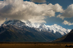 Southern Alps panorama Stock Images