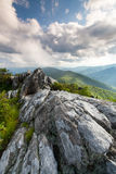 Southern Appalachian Blue Ridge Mountains Stock Image