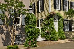 Southern Architecture, Charleston, SC Stock Images
