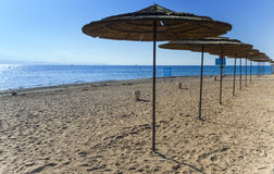 Southern beach of Eilat, Israel Stock Photography