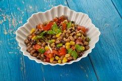 Southern Black-eyed Pea Salad. Or Salsa Royalty Free Stock Photos