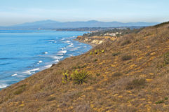 Southern California Coastline Stock Photography
