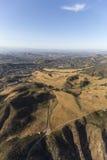Southern California Suburban Aerial Royalty Free Stock Photo