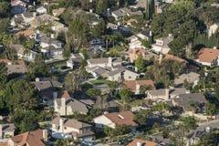 Southern California Suburbia Royalty Free Stock Photo