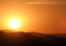 Southern California Sunset Stock Photo