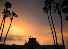 Southern California sunset Royalty Free Stock Images