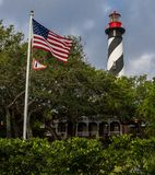 Southern Charm Lighthouse royalty free stock image