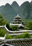 Southern China Pagoda royalty free stock photos