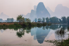 Southern China in spring Stock Photo