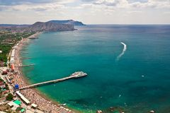 Southern coast of Crimea Royalty Free Stock Photo