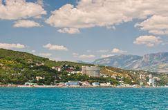 Southern coast of the Crimea stock images