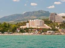 Southern coast of the Crimea stock photos
