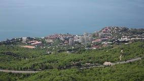 Southern Coast Of Crimea, Foros stock footage