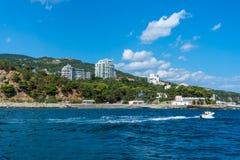 Southern coast of Crimea Stock Photography
