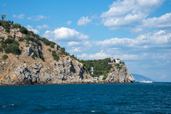 Southern coast of Crimea Royalty Free Stock Photo