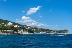 Southern coast of Crimea Royalty Free Stock Photography