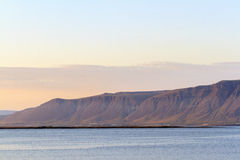 The southern coast of Iceland Stock Image