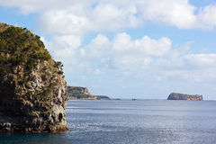 Southern coast of Sao Miguel Island, Azores, Portugal. Stock Images
