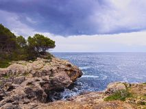 Southern Coastline of Minorca Royalty Free Stock Images
