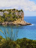 Southern Coastline of Minorca Royalty Free Stock Photography